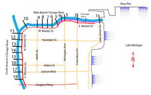 Riverwalk Chicago Map.Chicago Bridges Clb Mobile